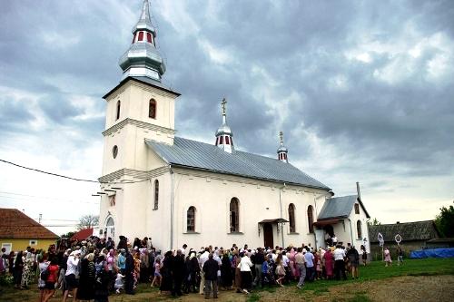 храм Михаила с. Бакош
