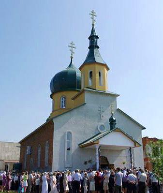 храм с. Горонда