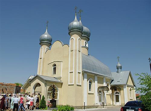 Вознесенский храм с. Розовка Ужгородский район