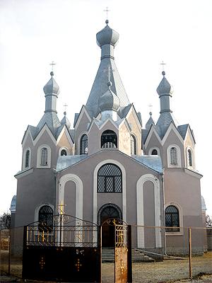 с. Жеребково, храм Иоанна Богослова