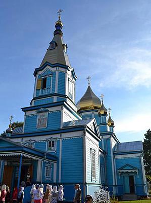 Покровский храм  с. Жиричи