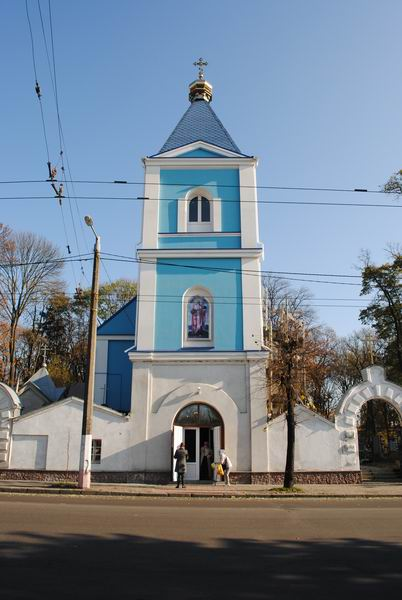 храм апостола Иакова в Житомире