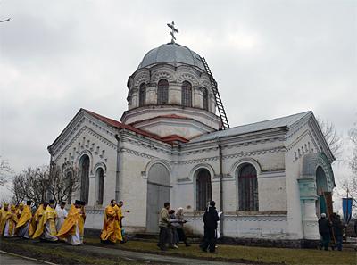 Грушевка, храм Рождества Богородицы