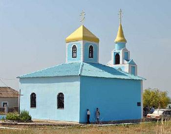 храм в поселке маяк