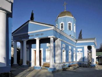 Покровский храм, Судак